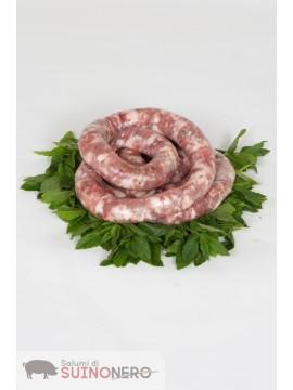 Salsiccia Fresca di Suino Nero Siciliano 1 kg.